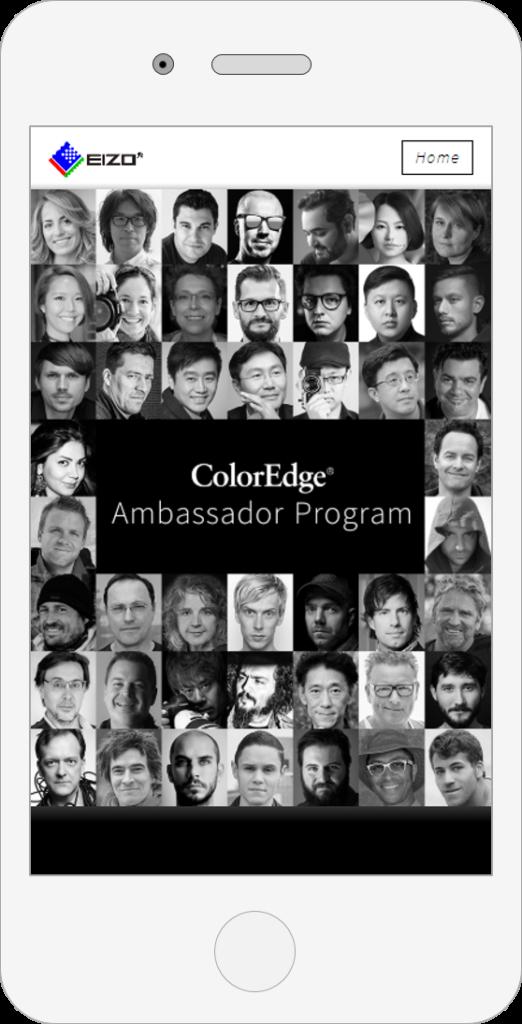 Ambassador Program Web_スマートフォンサイト